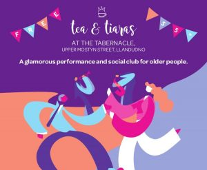 Tea & Tiaras – 'Posh Club' for 55+!